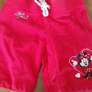 Disney Minnie Mouse red shorts - small